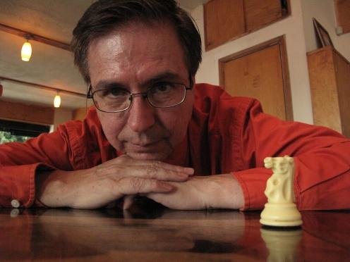 Armando Alanís, escritor © Isaí Moreno