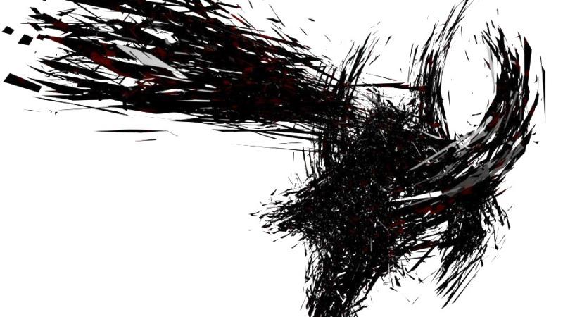 Un astro estalla en una pequeña plaza y un pájaro pierde los ojos ycae